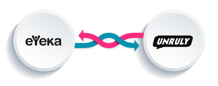 eyeka unruly partnership illustration