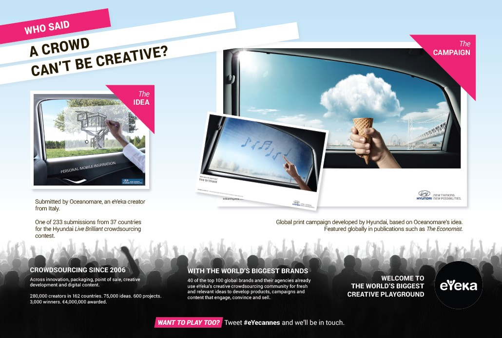Watch out for this full-page aAd in the Cannes Lions Festival program!