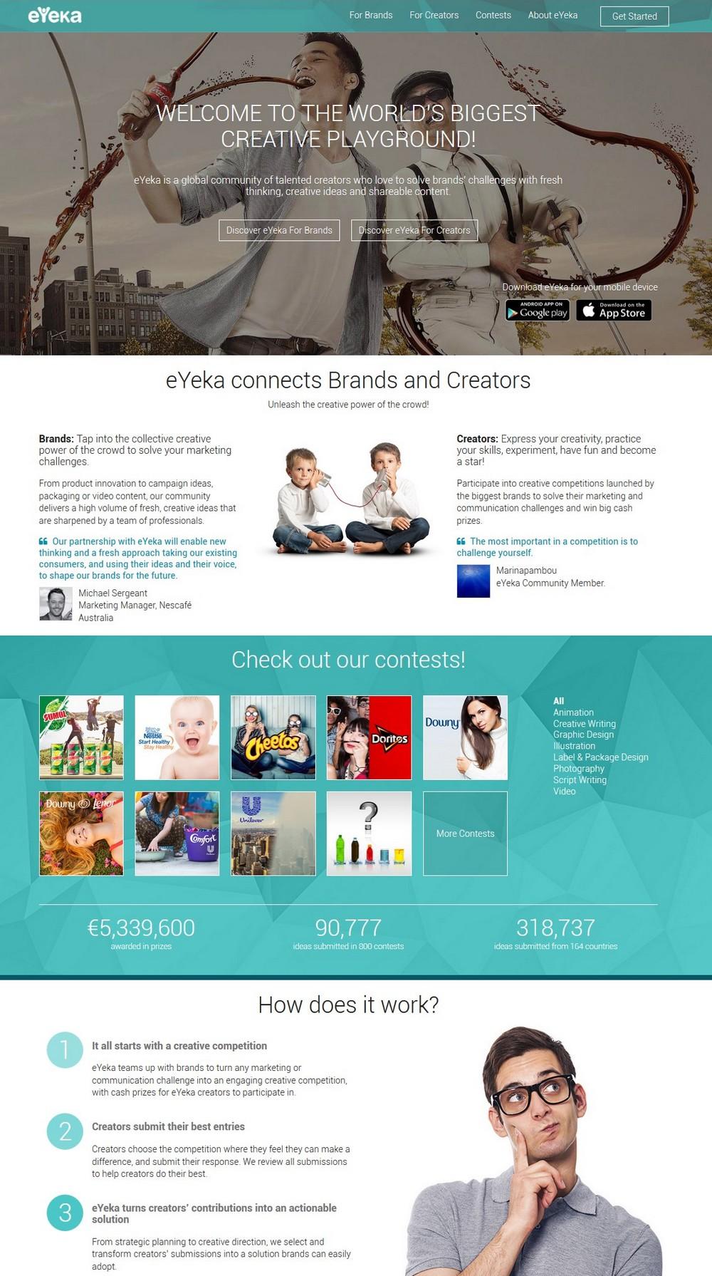 June 2015 - screenshot eyeka.pr.co press releases New eYeka Platform 2