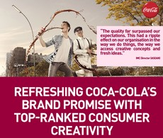 Interpreting Coca-Cola's energizing refreshment