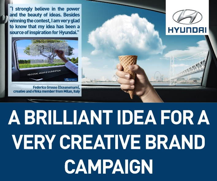 A Brilliant Idea for a very Creative Hyundai Brand Campaign