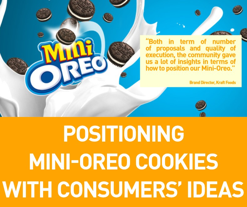 Positioning Mini Oreo on The Market