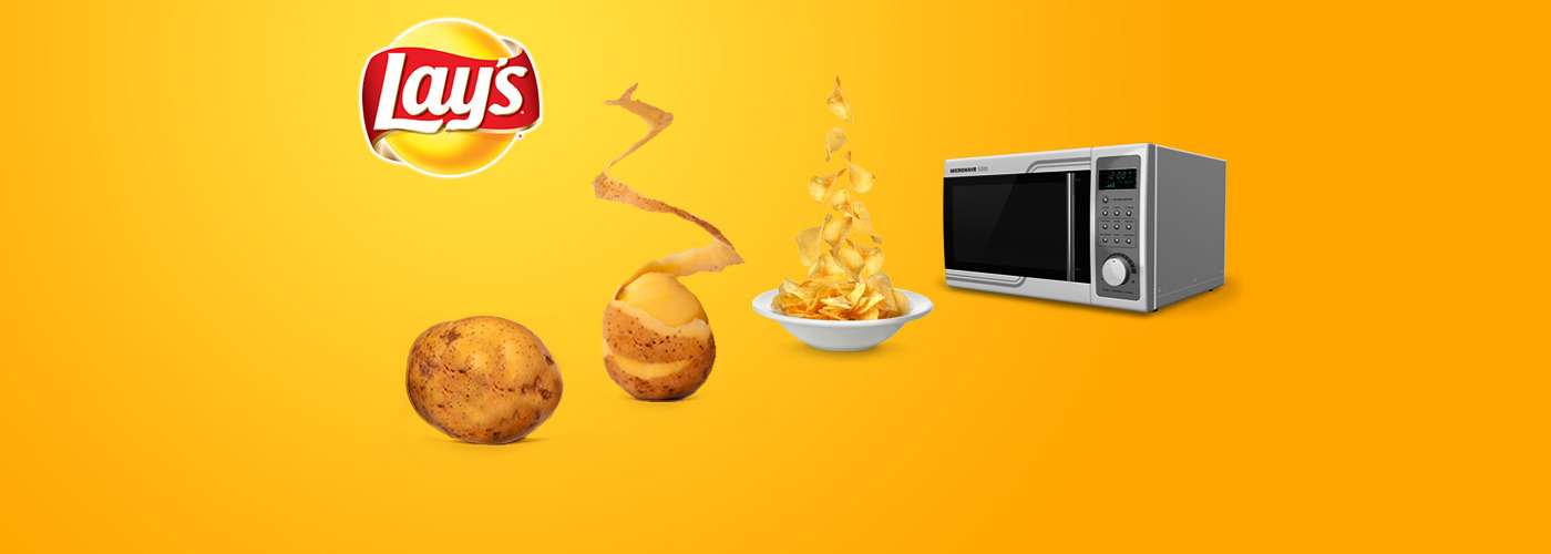 eYeka PEPSICO Lay's Microwave - contest banner